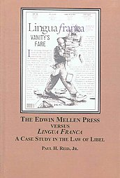 edwin-mellen-press-versus-lingua-franca-case-study-paul-h-reid-hardcover-cover-art